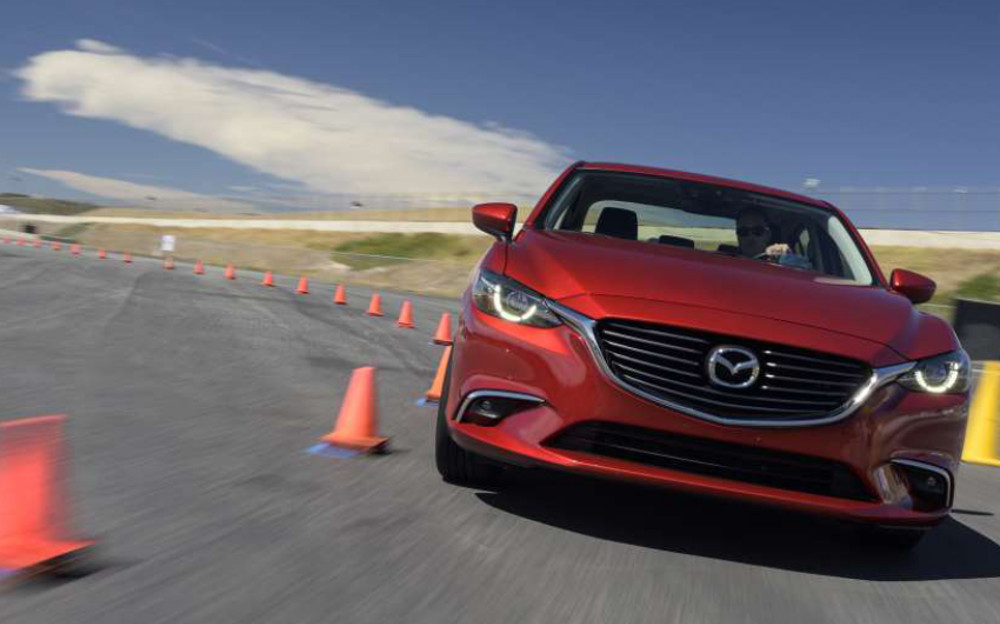 Mazda's G-VECTORING CONTROL Technology Enhances The Ride