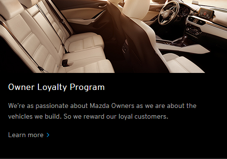 Mazda Loyalty Program
