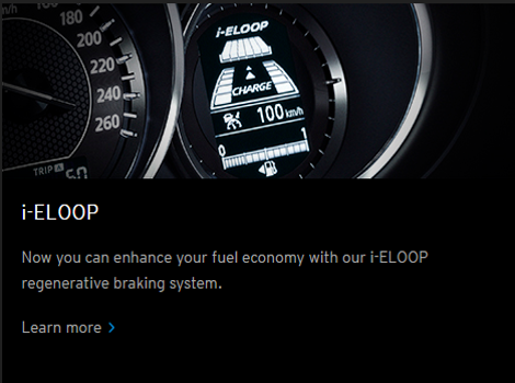 Mazda i-ELOOP technology