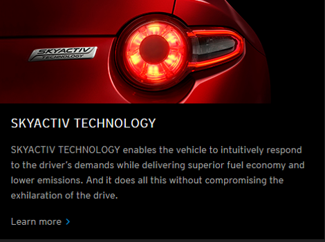 Mazda skyactiv technology