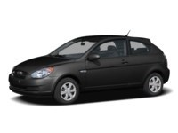 2008 Hyundai Accent L Ebony Black  Shot 2