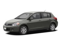 2008 Nissan Versa 1.8SL Magnetic Grey Metallic  Shot 2