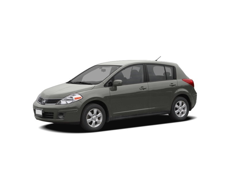 2008 Nissan Versa 1.8SL Magnetic Grey Metallic  Shot 1