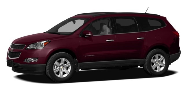 2010 Chevrolet Traverse Dark Cherry Metallic [Red]