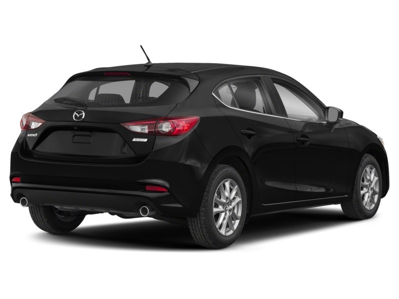 2018  Mazda3 GS Jet Black Mica  Shot 2