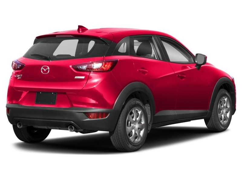 2018 Mazda CX-3 GX Soul Red Metallic  Shot 2