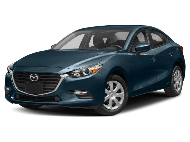 2018  Mazda3 GX Deep Crystal Blue Mica  Shot 1